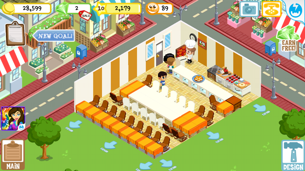 Bakery story, Restaurant story, food