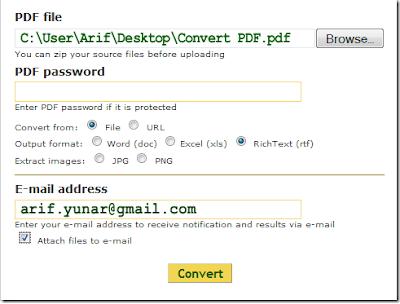 Free PDF Conventer