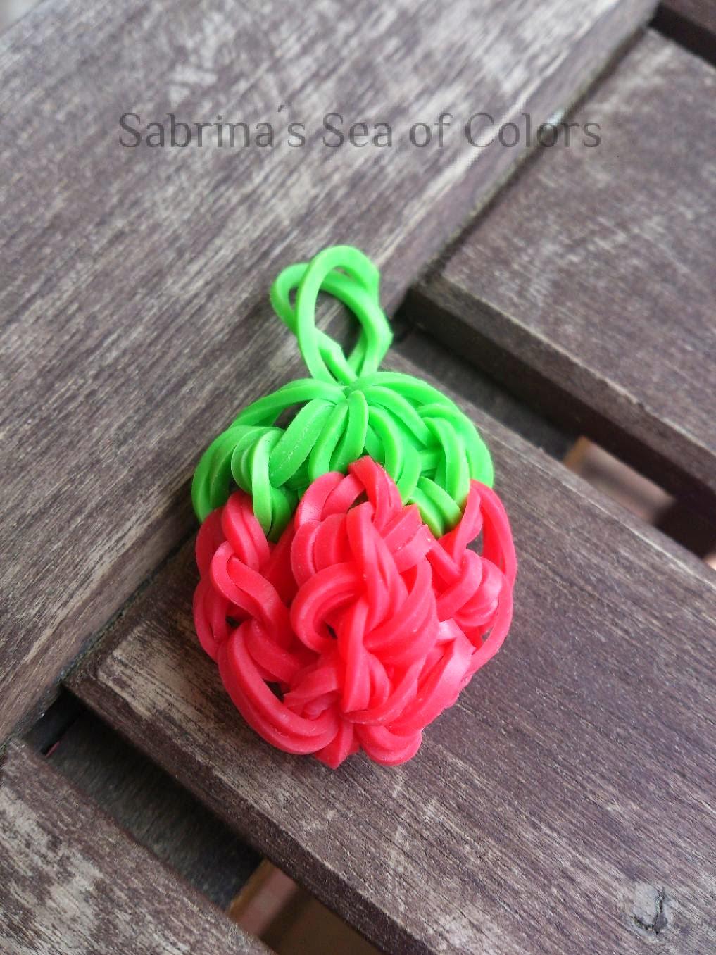fresa con gomitas