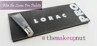 Enter my Lorac Pro palette giveaway