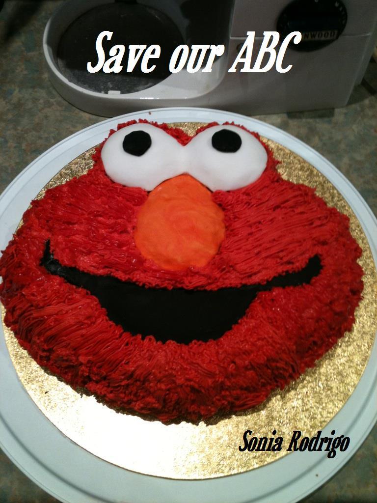 Elmo Cake Save Our ABC