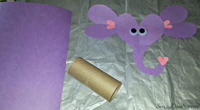 elephant toilet paper roll craft for kids