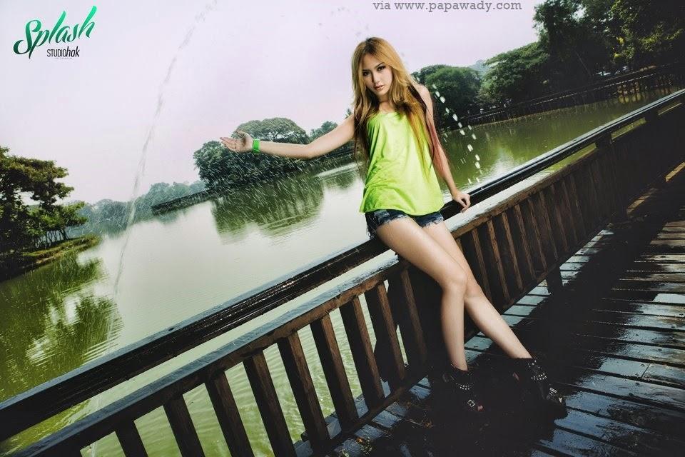 Sai Sai and Patricia Splash Photoshoot