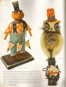 Published work~Prims Magazine~Folk Magazine~Soft Dolls and Animals and Somerset Studios Gallery