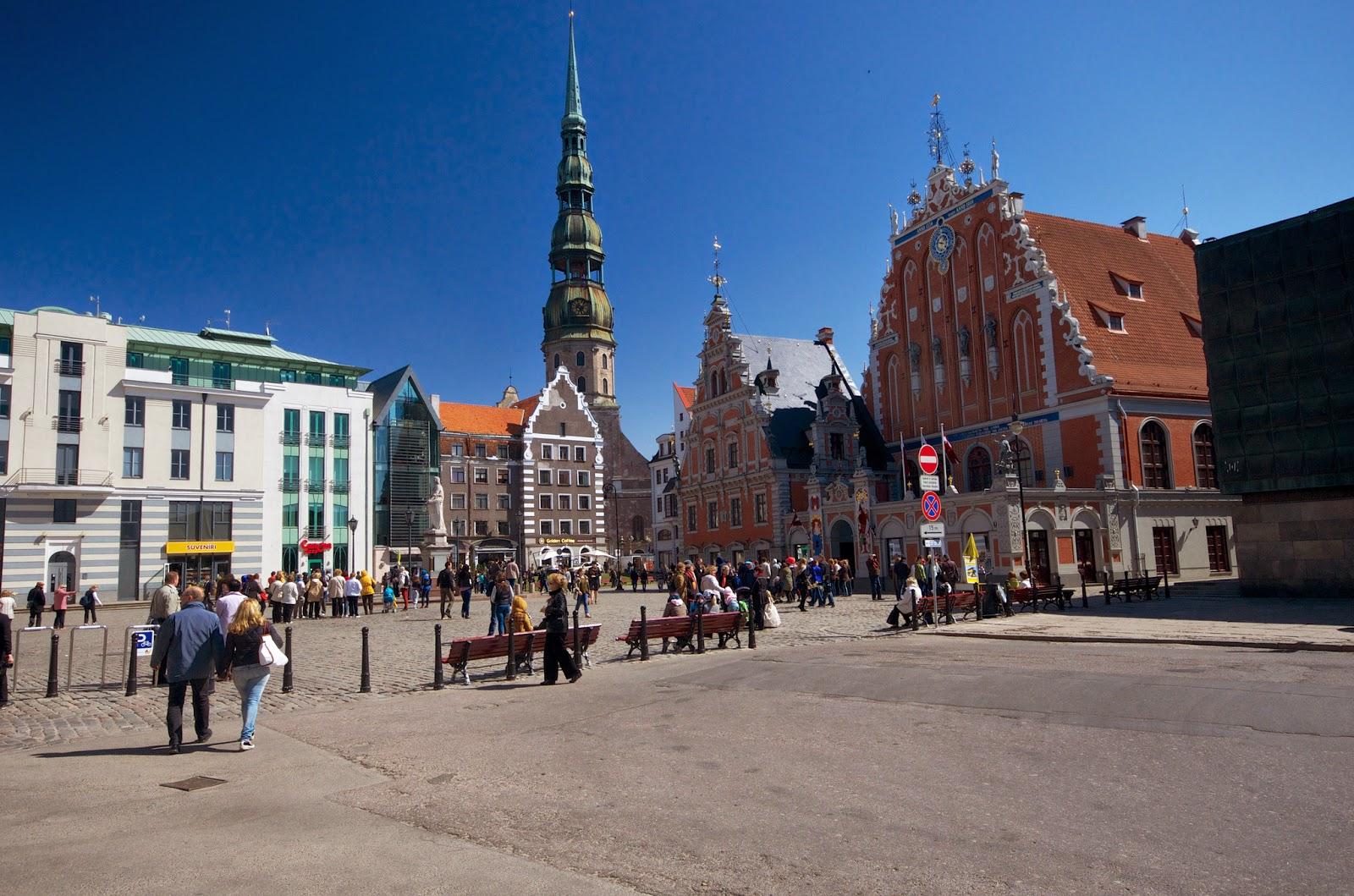 Ратушная площадь, Рига, Латвия