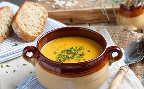Veloute Vegetable Soup, Monastic Recipe, Mediterranean Diet, Monastic Recipes of Mount Athos,