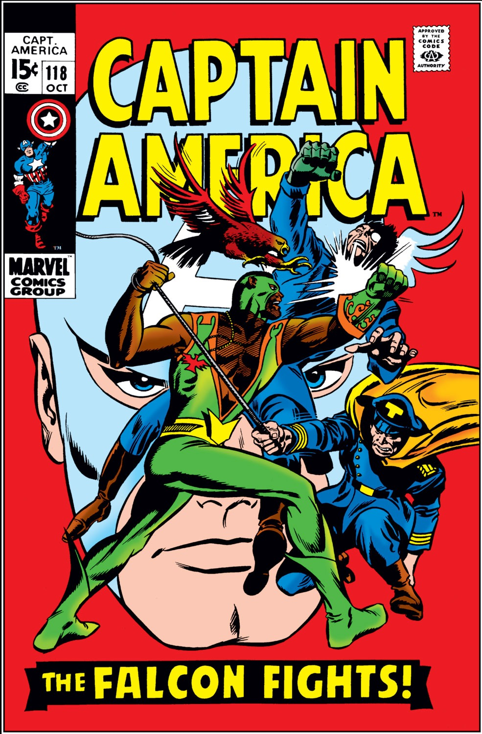 Captain America (1968) Issue #118 #32 - English 1