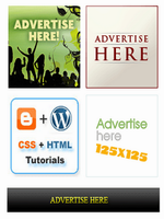 How To Random Ad 125 by 125 Banner Widget For Blogger