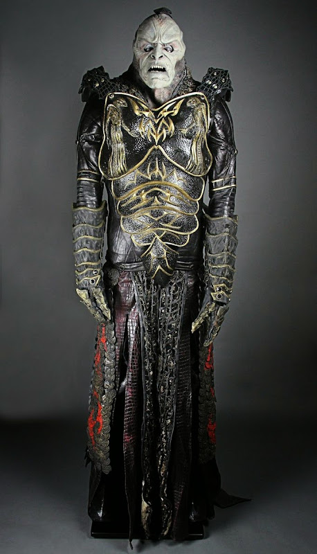 Farscape Scarran Captain Jenek costume prosthetics