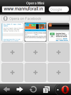 Opera Mini 6.5.2 for Symbian S60v3, S60v5, S^3, Anna, belly