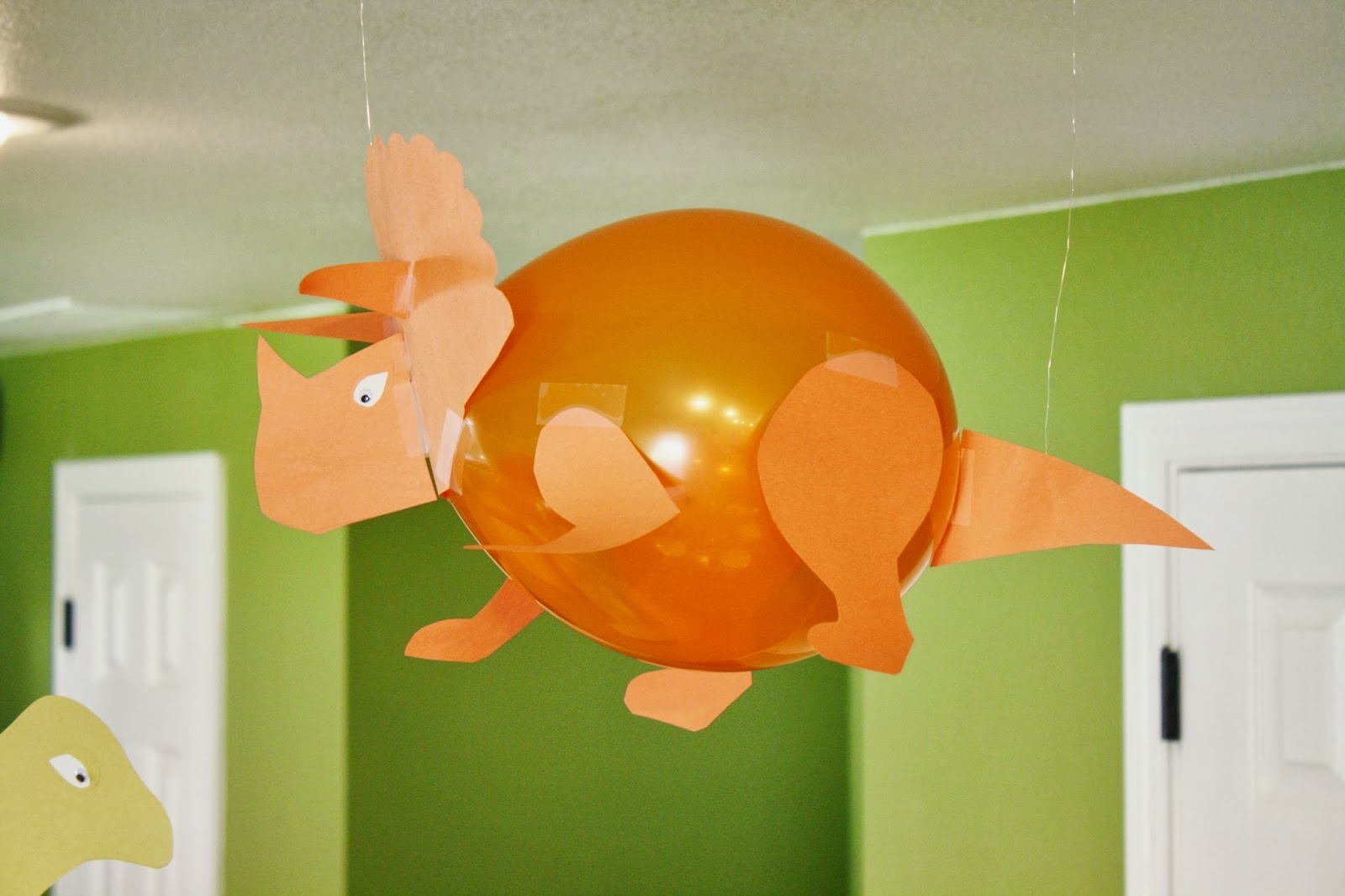 Dinosaur Balloon Birthday Party Ideas