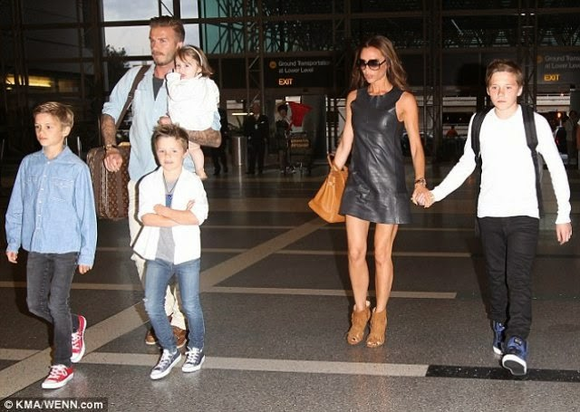 David Beckham and family holiday in Maldives for third year in a row!