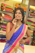Mounika Reddy Glam pics in Half saree-thumbnail-5