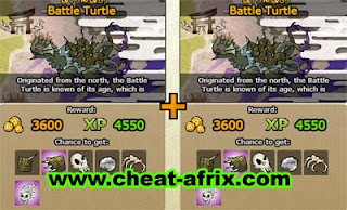 Cheat Hunting House Battle Turtle Ninja Saga
