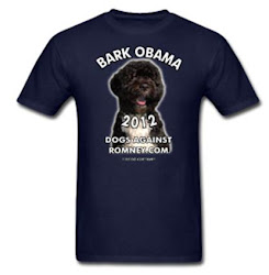 "Official Dogs Against Romney ""Bark Obama"" Tee"