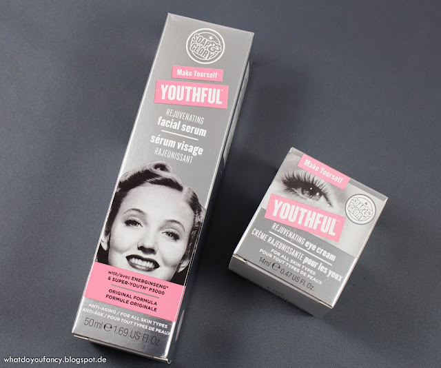 "Grimmsi startet den Douglas-Produkttest mit ""Make Yourself Youthful"" von Soap&Glory"