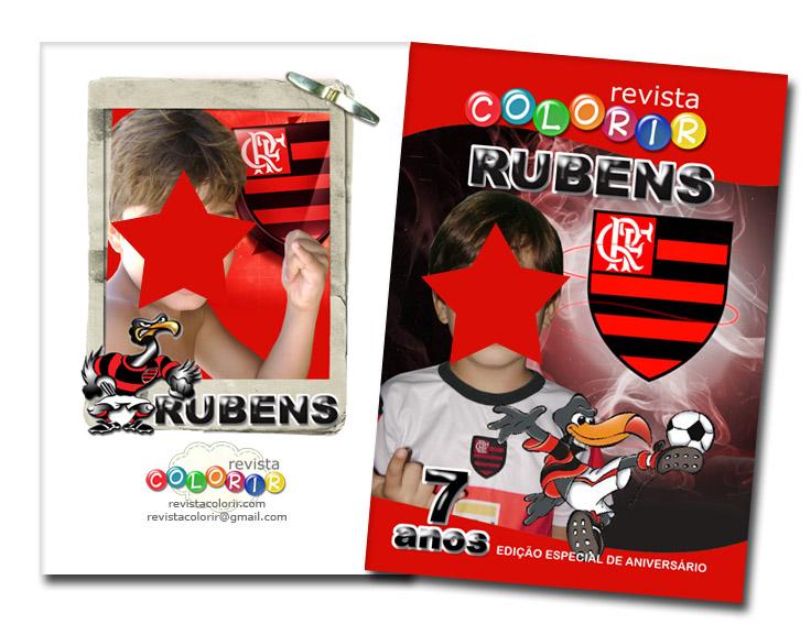 Escudo do Flamengo – desenho para imprimir colorir e  - imagens para colorir do flamengo