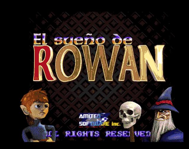 The Dream of Rowan, un nuevo proyecto de crowdfunding español para producir un juego en Amiga