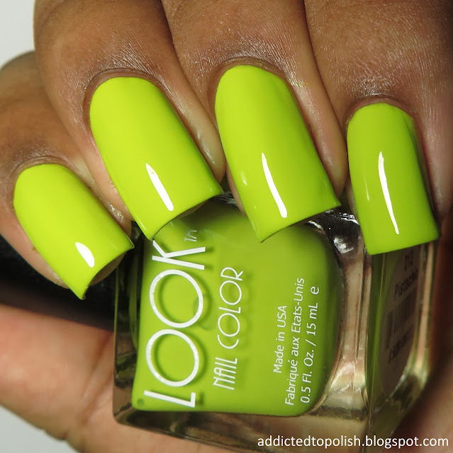 look nail color pistachio