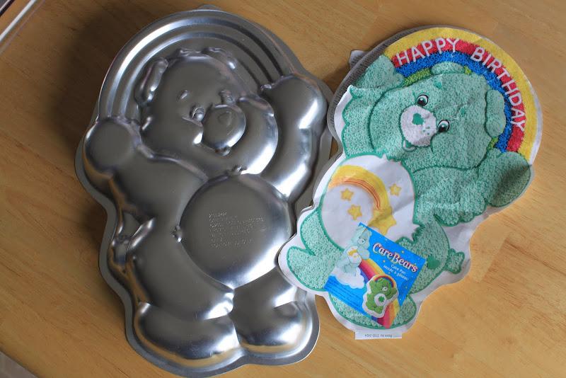 Helpful Daddy Care Bear Birthday Cake Share Bear