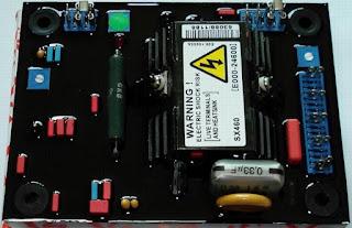 Jual Spare Part AVR Stamford SX460 untuk Genset.