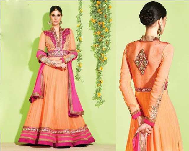 Latest Frock Designs Indian Summer Wear