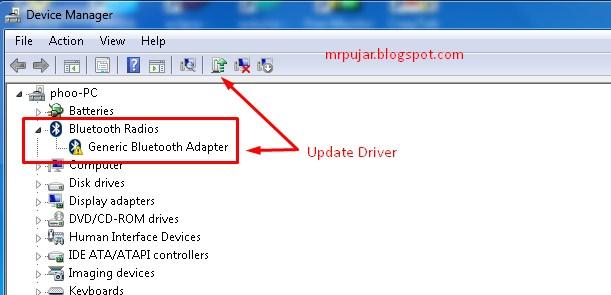 cara menggunakan bluetooth di pc windows 7