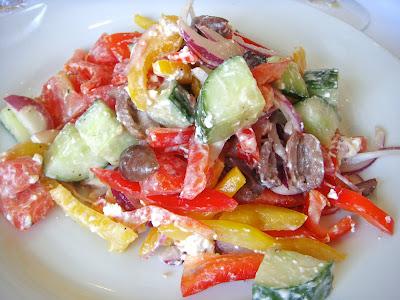 Mediterranean salad at Alma Nove, Hingham, Mass.