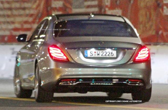 фото нового Mercedes-Benz S Класса 2013 года