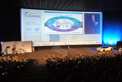Foto del aforo de Cisco Connnect