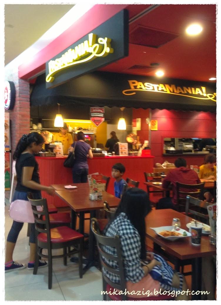 Mikahaziq halal kids friendly restaurant pastamania for Kid friendly restaurants