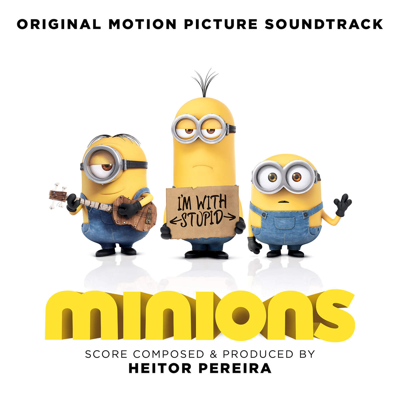 Various Artists - Minions (Original Motion Picture Soundtrack) Cover