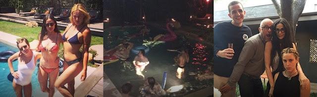 Homem encontrado morto na piscina de Demi Moore