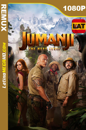 Jumanji: El siguiente nivel (2019) Latino HD BDREMUX 1080P ()