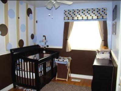 Prikaz uredjenja dijecje sobe