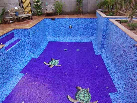 Punto sanitario: ideas para el patio y la piscina.