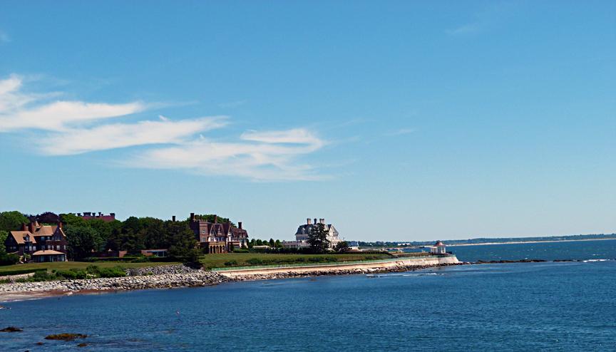 Newport, Rhode Island shore