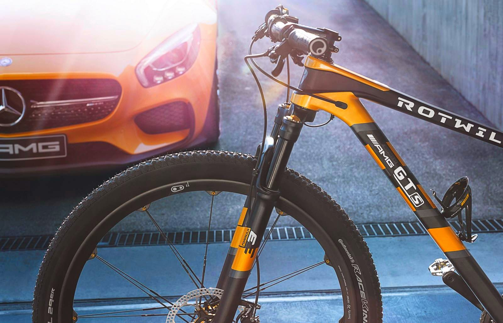 Mercedes-Benz y RotWild crean bicicleta de montaña ultra veloz en ...
