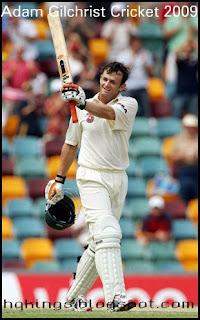 Adam Gilchrist Cricket 2009