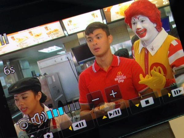 Matteo Guidicelli for McDo National Breakfast Day