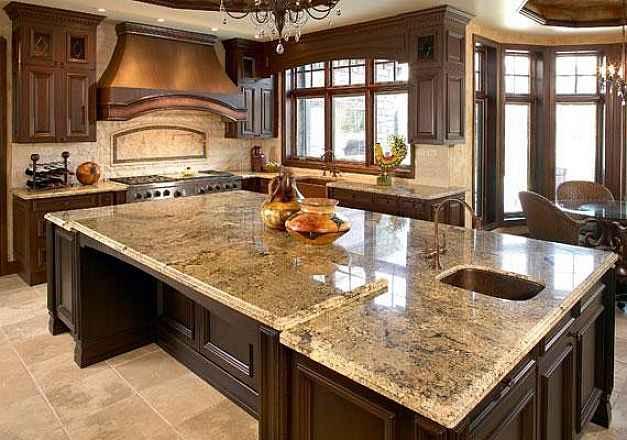 Kitchen Design Granite Countertops Photos