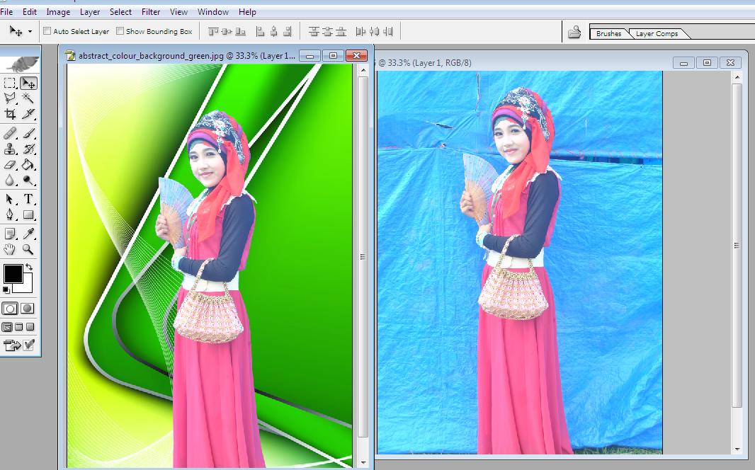 cara cepat edit foto di photoshop