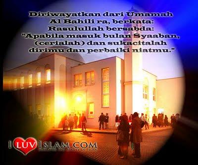 Bulan Syaaban 2011 Bulan Syaaban Merupakan Bulan