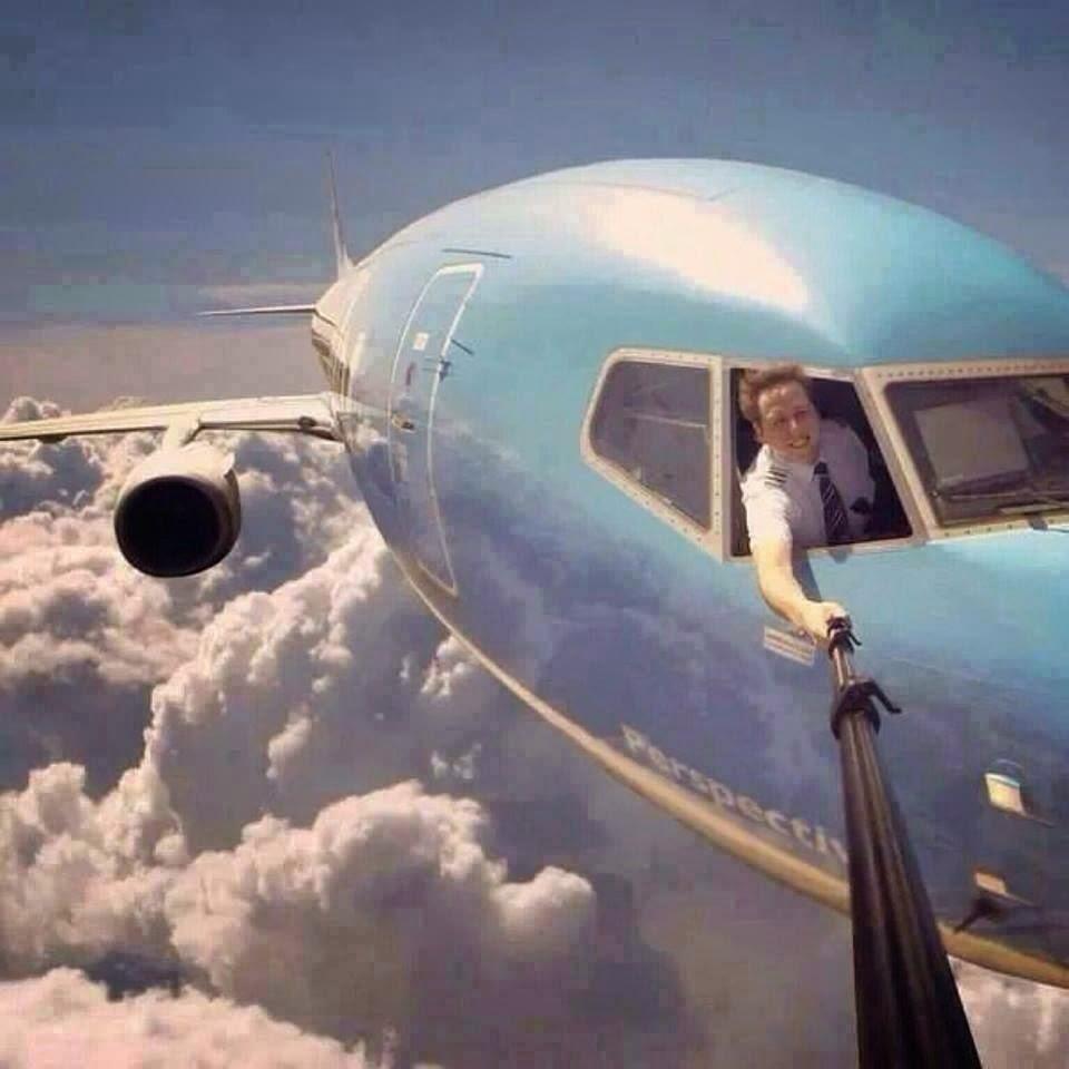 Acá el mejor selfie de la historia