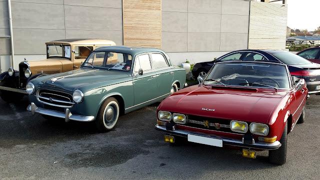 La Peugeot 403 et 504