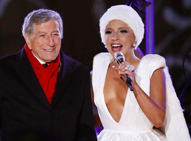 Lady Gaga & Tony Bennett Perform at Christmas in Rockefeller ...