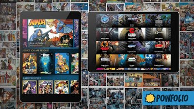 Stream FREE COMICS With The PowFolio App !