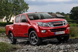 Isuzu D-Max Fury Double Cab (2015) Front Side