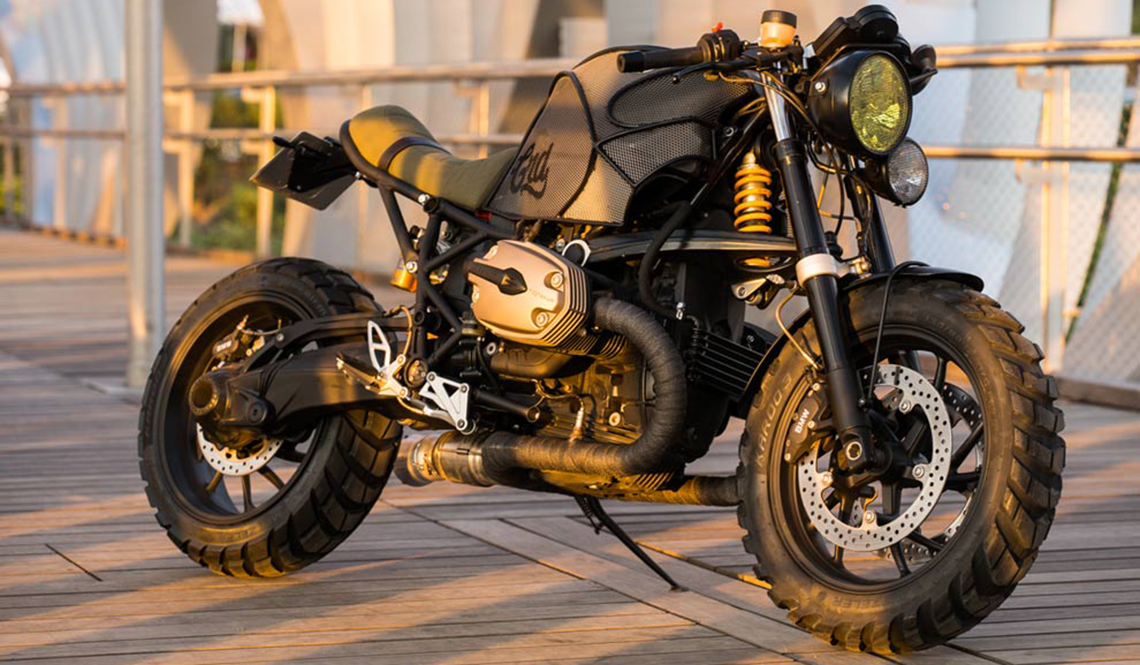 Bmw R1200s Cafe Racer Dreams Motorcycle New Revolution