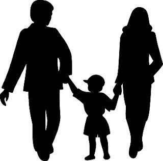 foto, família, feliz, felicidade